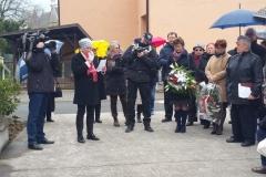 Uroczystość 79. rocznicy zbrodni Konteszyniec, Czeski Cieszyn 12. 4. 2019