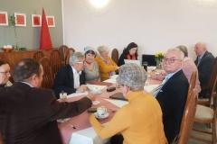 Zebranie zarządu Rodziny Katyńskiej w RCz 13. 1. 2020
